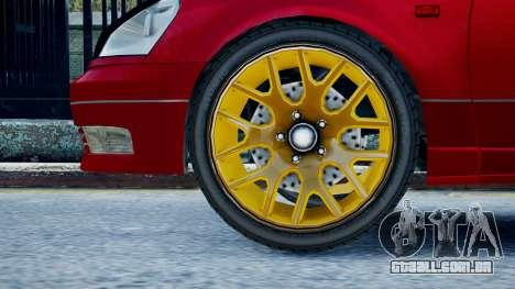 Intruder Sport para GTA 4 traseira esquerda vista