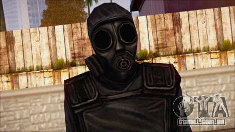 SAS from Counter Strike Condition Zero para GTA San Andreas terceira tela