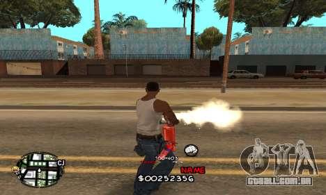C-HUD by Jackson para GTA San Andreas terceira tela
