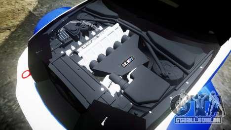 BMW M3 E46 GTR Most Wanted plate NFS Pro Street para GTA 4 vista lateral