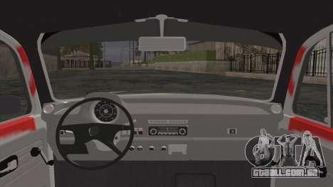 Volkswagen Beetle Bosnia Stance Nation para GTA San Andreas traseira esquerda vista