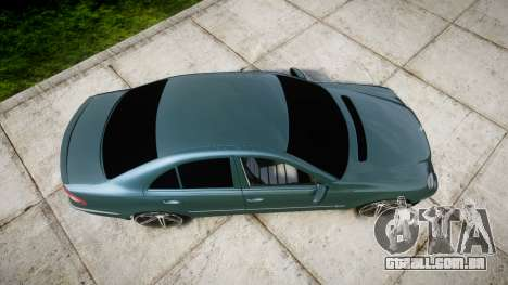 Mercedes-Benz W211 E55 AMG Vossen VVS CV5 para GTA 4 vista direita