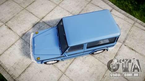 Mercedes-Benz G500 Short 1999 para GTA 4 vista direita
