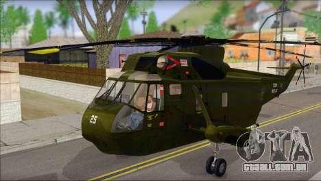 Helicopter Nuri Malaysia Mod (Seaking) para GTA San Andreas