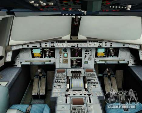 Airbus A380-800 Air France para GTA San Andreas interior