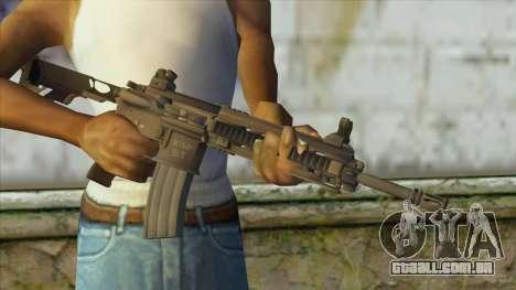 M4 from Battlefield 4 para GTA San Andreas terceira tela