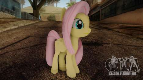 Fluttershy from My Little Pony para GTA San Andreas
