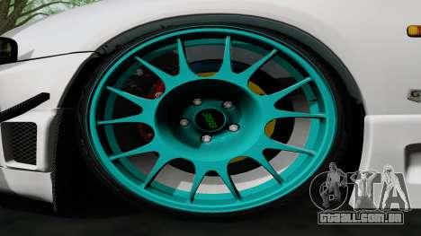 Nissan Skyline GT-R33 para GTA San Andreas vista interior
