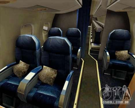 Embraer E-190-200LR House Livery para o motor de GTA San Andreas