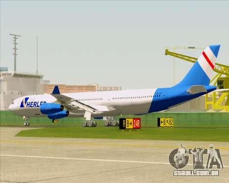 Airbus A340-300 Air Herler para as rodas de GTA San Andreas