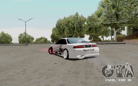 Nissan Silvia S14 VCDT para GTA San Andreas vista direita