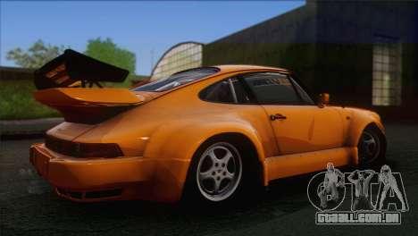 Porsche 911 Turbo 1982 Tunable KIT C PJ para vista lateral GTA San Andreas