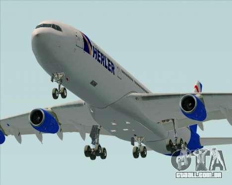 Airbus A340-300 Air Herler para o motor de GTA San Andreas