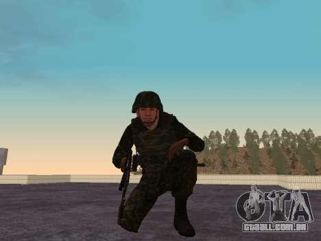 Soldados da MIA da Federação russa para GTA San Andreas por diante tela