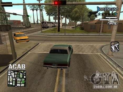C-HUD by Edya para GTA San Andreas segunda tela