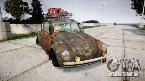 Volkswagen Beetle rust para GTA 4