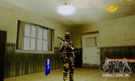 Weapon pack from CODMW2 para GTA San Andreas twelth tela