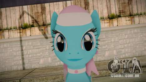 Lotus from My Little Pony para GTA San Andreas terceira tela