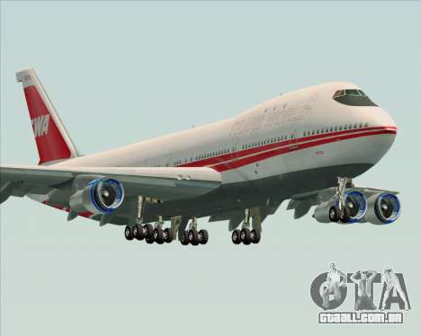 Boeing 747-100 Trans World Airlines (TWA) para GTA San Andreas