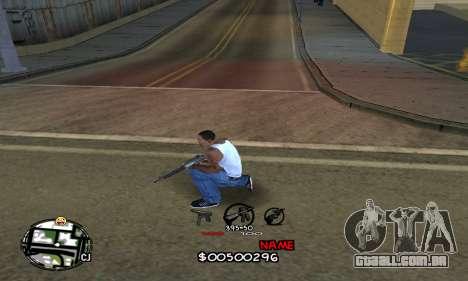 C-HUD by Jackson para GTA San Andreas segunda tela