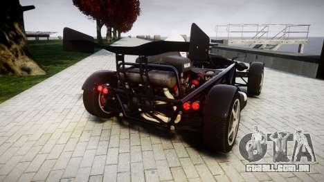 Ariel Atom V8 2010 [RIV] v1.1 AsymBon para GTA 4 traseira esquerda vista