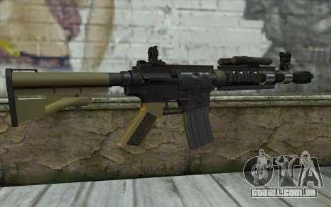 M4 MGS Aimpoint v1 para GTA San Andreas segunda tela