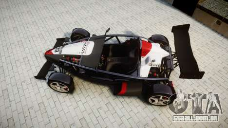 Ariel Atom V8 2010 [RIV] v1.1 Garton Racing Team para GTA 4 vista direita