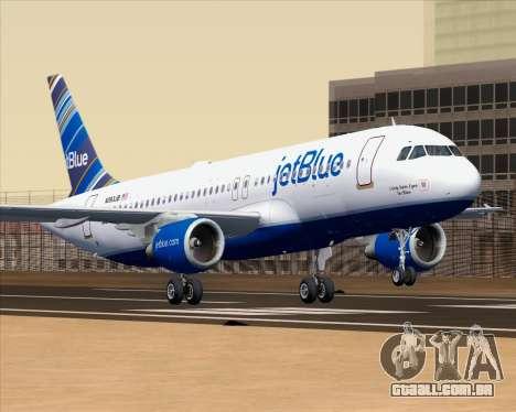 Airbus A320-200 JetBlue Airways para GTA San Andreas