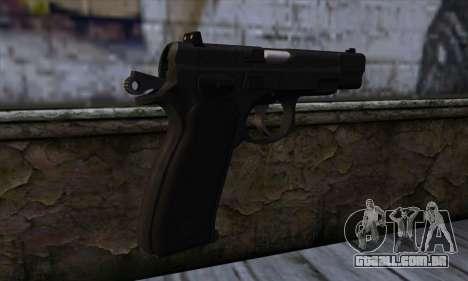 CZ75 v1 para GTA San Andreas segunda tela