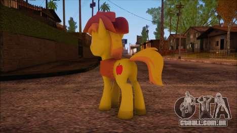 Braeburn from My Little Pony para GTA San Andreas segunda tela