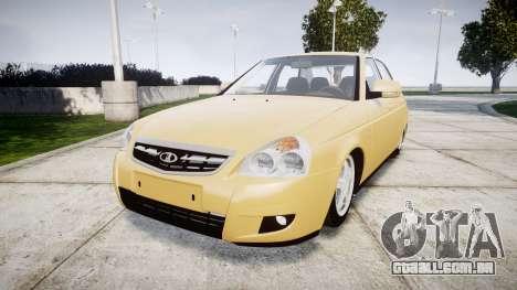 ВАЗ-2170 Instalado Prioresa 2014 para GTA 4