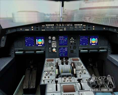 Airbus A340-300 Air Herler para GTA San Andreas interior