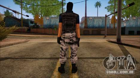 Terror from Counter Strike Condition Zero para GTA San Andreas segunda tela