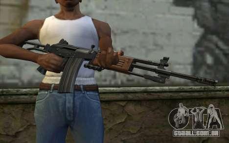 Galil v1 para GTA San Andreas terceira tela