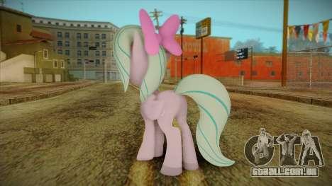 Flitter from My Little Pony para GTA San Andreas segunda tela