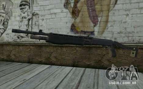 Espingarda (Renegade X Black Dawn) para GTA San Andreas