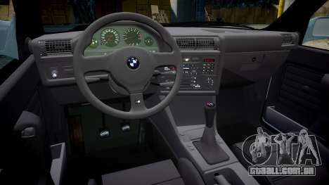 BMW M3 E30 1991 [EPM] para GTA 4 vista interior