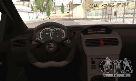 Opel Corsa 5-Doors para GTA San Andreas traseira esquerda vista