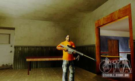 Weapon pack from CODMW2 para GTA San Andreas quinto tela