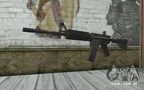 M4 de Sniper-Guerreiro Fantasma para GTA San Andreas