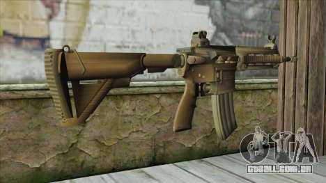 M4 from Battlefield 4 para GTA San Andreas segunda tela