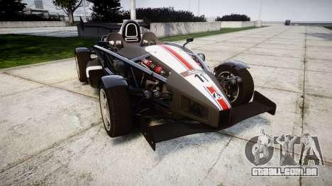 Ariel Atom V8 2010 [RIV] v1.1 FUEA Equipped para GTA 4