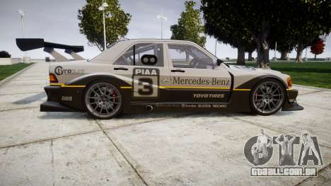 Mercedes-Benz 190E Evo II GT3 PJ 4 para GTA 4 esquerda vista