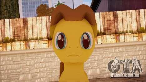 Caramel from My Little Pony para GTA San Andreas terceira tela