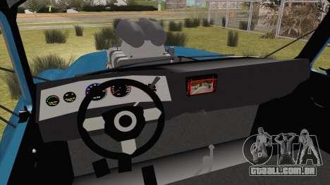 GAZ-52 para GTA San Andreas traseira esquerda vista