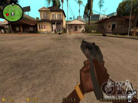 Counter-Strike HUD para GTA San Andreas segunda tela