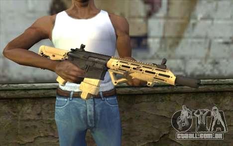 AR-25c para GTA San Andreas terceira tela