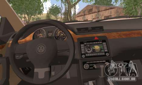 Volkswagen AirCC para GTA San Andreas traseira esquerda vista