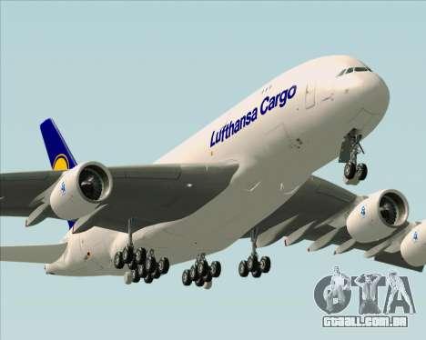 Airbus A380-800F Lufthansa Cargo para o motor de GTA San Andreas