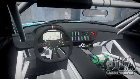 BMW Z4 GT3 2014 Goodsmile Racing para GTA 4 vista interior